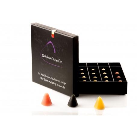 Coffret de 9 cuberdons couleurs Belge