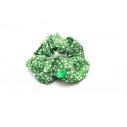 "Chouchou ""Choupette""  Green Dots A"