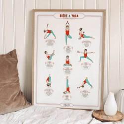 Poster Dolios ( yoga biére )