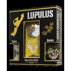 Coffret LUPULUS 2*75cl+1V
