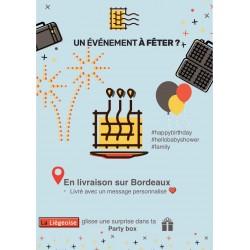 La Liégeoise-L'authentique (PACK ANNIVERSAIRE + SURPRISE) prix par participant